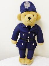 VINTAGE MERRYTHOUGHT POLICE SOFT TOY TEDDY BEAR-IRON BRIDGE SHROPSHIRE 45CM HIGH
