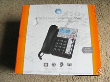New AT&T ML17939 2-Line Corded Telephone w/ Digital Answering System & Caller ID