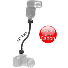 """Flexible 12"""" i-TTL Flash Shoe Cord for Canon 1D 1Ds 5D 10D 20D 30D 40D 50D 60D"""