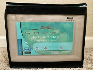 Brand new Sheex Artic Aire Max Performance sheet set in King (Taupe Color)