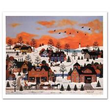 """Wooster Scott """"A Sunset Long Ago"""" S/N COA Snow"""