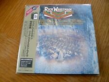 Rick Wakeman - Journey To The Centre of The Earth - Japan Mini LP CD - UICY-9262