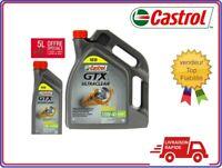 Huile moteur voiture CASTROL Ultraclean Synthétique 10W40 5 litres +1 litre Auto