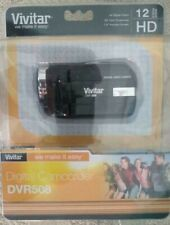 "VIVITAR DVR-508 HD DIGITAL VIDEO CAMERA CAMCORDER 12 Mega Pixel 1.8"" Screen"