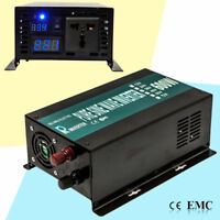 Pure Sine Wave Power Inverter 600W 24V 120V DC to AC Generator Inverter Convert