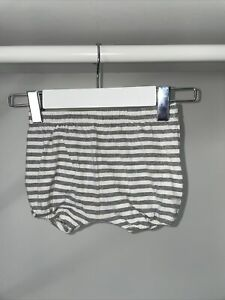 Gray Label Bloomers, Grey stripes, 6-9months - EUC