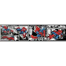 Marvel Ultimate Spiderman Comic on Sure Strip Wallpaper Border DY0250BD