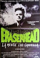 manifesto movie poster ERASERHEAD La mente che cancella  David Lynch HORROR 1F