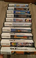Lot Of 10 MIX Cases and manuals Only No Games (Nintendo 3DS, 2014)