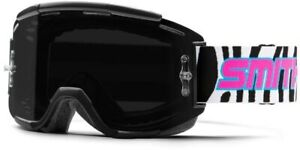 Smith Squad MTB Goggles Get Wild - ChromaPop Sun Black Lens + Clear Lens