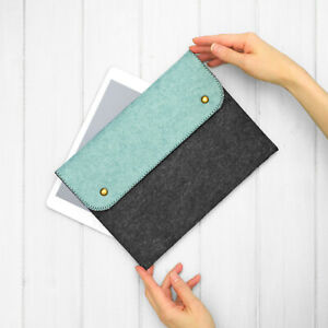 NEW Felt Tablet Case Cover for Samsung Galaxy Tab S7 FE A7 S6 S5e Handmade in UK