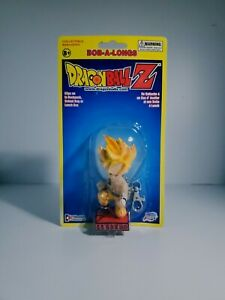 Dragonball Z SS Goku Bob-A-Longs Mini Bobble Clip-On Bobblehead Keychain SEALED