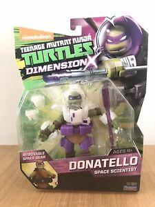 NEW TMNT Teenage Mutant Ninja Turtles Dimension X Donatello Space Scientist