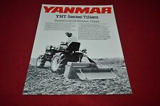 Yanmar YHT Series Tillers Dealer's Brochure DCPA6