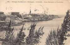 Dakar Senegal Anse Bernard et Corniche Antique Postcard J70516