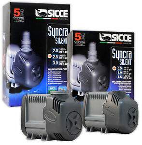 Sicce Syncra Pump Silent Aquarium Protein Skimmer Fresh Water Marine Fish Tank
