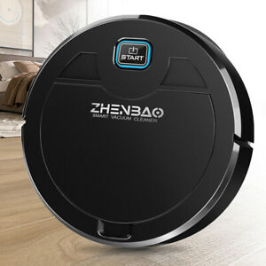 Sweeping Robot Vacuum Cleaner Intelligent Automatic Suction Floor Sweeper Mop US