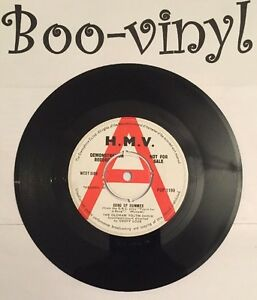 "THE OLDHAM YOUTH CHOIR - SONG OF SUMMER - 7"" VINYL DEMO HMV POP1199 Vg"