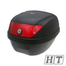101 OCTANE TOP CASE VALISE 28 L réflecteur rouge pour PGO TM PUCH SUNL Moto Mawi