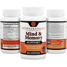Suplemento Dietario Memoria-Suplemento De Apoyo Y De Refuerzo Del Cerebro Natura