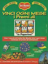 X2986 Succhi di frutta Del Monte - Pubblicità 1996 - Advertising
