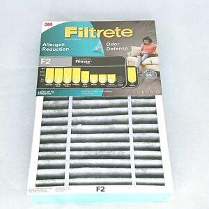 3M Filtrete F2 Air Purifier Filter Allergen Reduction Odor Defense Sealed Lot 2