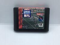 ESPN Sunday Night NFL (Sega Genesis, 1994) Loose Great Condition Fast Shipping