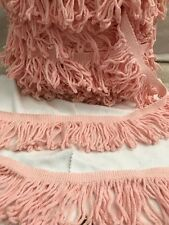 Light Pink Twisty Fringe Trim BY THE YARD