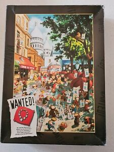 HEYE - WANTED! WHERE ARE THE DIAMONDS? 1000 PIECE JIGSAW PUZZLE. COMPLETE