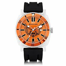Holler Chocolate City Orange Mens Watch HLW2196-2 2196-2 Brand New in Box
