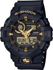 BRAND NEW CASIO G-SHOCK GA710B-1A9 BLACK/GOLD ANA-DIGI MENS RESIN WATCH NWT!!!!