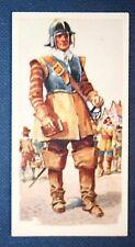 English Civil War  Roundhead Soldier  Superb Vintage Card