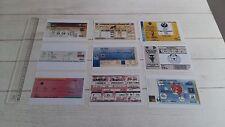 Lot 9 Photos Ticket Billet Tous les titres du football masculin français Zidane