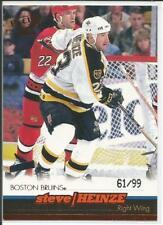 99-00 Pacific Bronze Parallel Steve Heinze 61/99 #24 Bruins