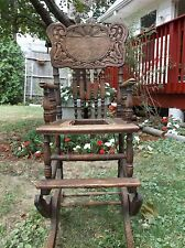 Antique Child Folding High Chair