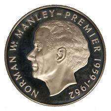 Giamaica Jamaica 5 Dollars 1973 Norman W. Manley Argento Silver #1114A