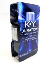 K-Y KY Duration Spray for Men Last Longer & Stay in Moment 100 sprays Exp 10/18