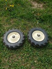 Solid Rubber Ag Rotor Tiller Wheels Tires 2.5x10 1/2 Bolens Simplicity Gilson?