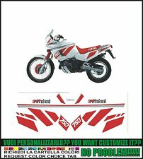 kit adesivi stickers compatibili XT 750 Z SUPER TENERE 1990 WHITE RED