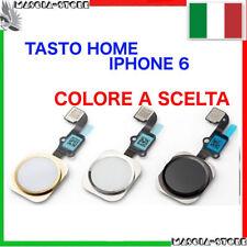 IPHONE 6 TASTO CENTRALE HOME e Pulsante COMPLETO FLAT Flex GOLD NERO BIANCO