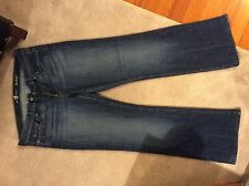 Seven 7 For All Mankind ORIGINAL BOOTCUT Jean Woman 32 NOUVEAU NEW YORK DARK