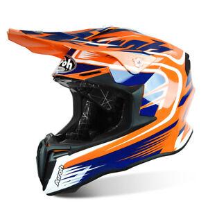 Airoh Twist MX motorcycle Helmet Mix orange Motocross Off-Road Enduro Quad
