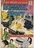 Romantic Story #47 1960 FN/VF CDC Comics Free Bag/Board