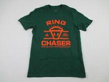 Miami Hurricanes adidas Short Sleeve Shirt Men's Green New Multiple Sizes