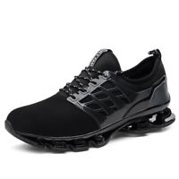 Men's Running Sneakers Blade Shock Absorbing Sports Trainers Breathable Shoes