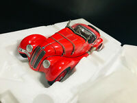 1:18 AUTOART BMW 328 ROADSTER 1938 70582 RED NO FRONTIART MINICHAMPS RARE NEW