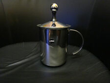 Cilio Cappuccino-Creamer Exklusiv maxi 3 Tassen Edelstahl NEU