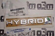 2013 2014 Ford Fusion C-Max Front Driver or Passenger Side Hybrid Emblem new OEM