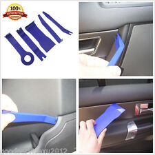 5 Pcs Blue Nylon Car Interior Trim Door Panel Dash Centre Console Pry Open Tools