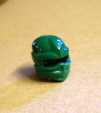 Lego Helm für Ninja Ninjago Figuren Kopfbedeckung Turban grün green Maske Neu